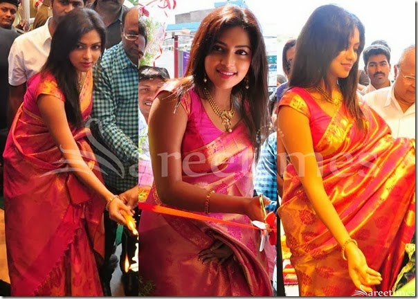 Amala_Paul_Pink_Traditional_Silk_Saree