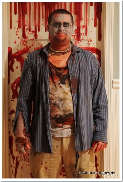 zombie costume for halloween
