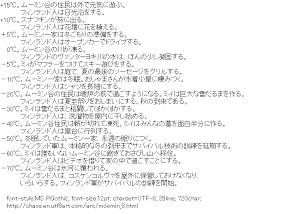 [AA]Moomin Template
