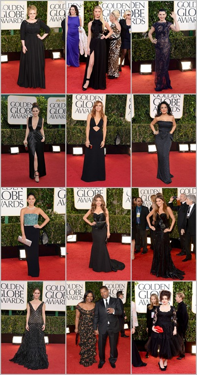 Golden Globes Negro