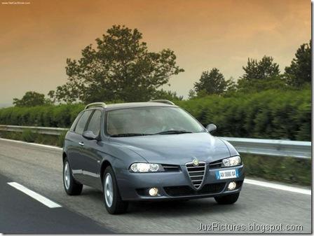 Alfa Romeo 156 Sportwagon 2.0 JTD (2003)5
