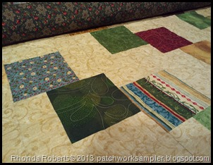 falling charms quilting