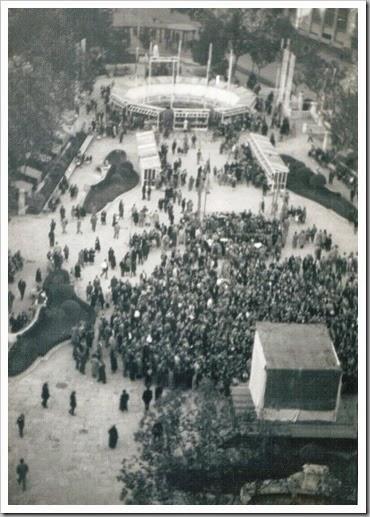 Semana de Información Infantil en la plaza del Caudillo. 1955