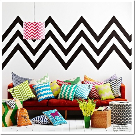 Missoni-insired-chevron-patterns