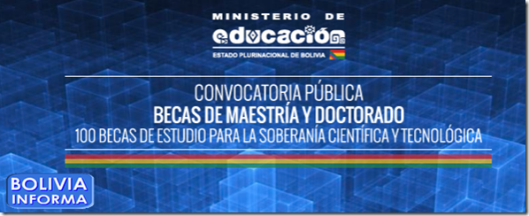 Postulantes para las 100 becas de postgrado deben cumplir for Ministerio de educacion plazas