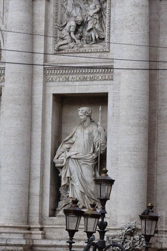 Фонтан Треви. Рим. Италия. Круиз. Коста Конкордия. Rome. Italy. Costa Concordia. 2011. February. Март.