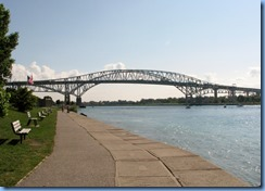 3647 Ontario Sarnia - Blue Water Bridge over St Clair River