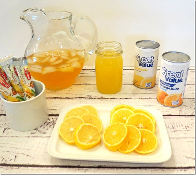 Lipton Holiday Punch Recipe #FamilyTeaTime