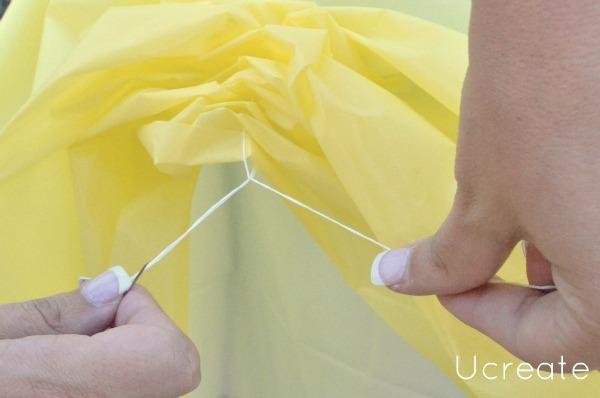 sunshine tablecloth tutorial