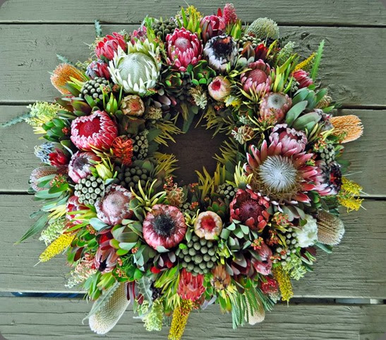 wreath resendiz brothers protea growers 1533918_631860273539335_720886098_n
