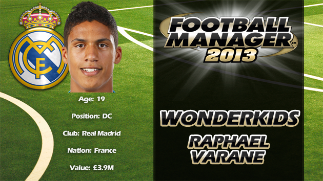 FM13 Wonderkid Review - Raphael Varane