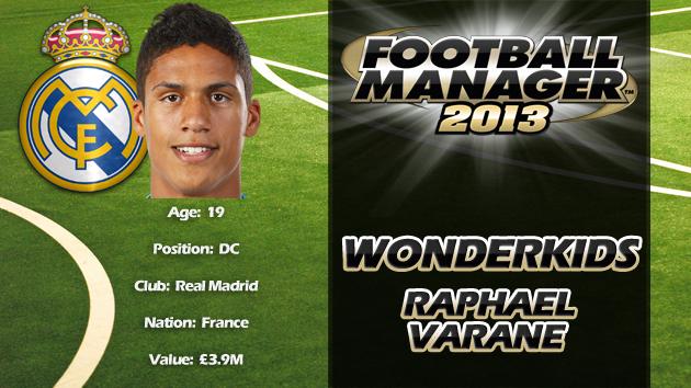 FM13 Wonderkid Review - Raphael Varane