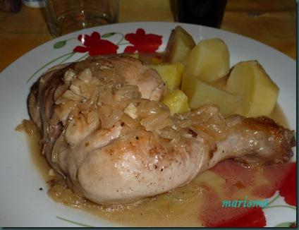 pollo a la cerveza,racion copia