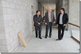 Concejales y funcionarios municipales recorrieron la Escuela Vucetich