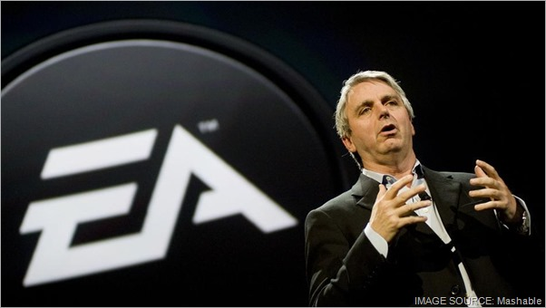 Former EA CEO John Riccitiello. CLICK for full coverage of his recent resignation on Mashable.