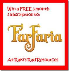 Far Faria - Reading App for Kids - Review and Giveaway from Raki's Rad Resource