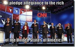 Pledge to the Rich