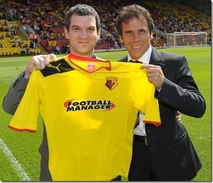 T-Shirt Watford and Football Manager 2013