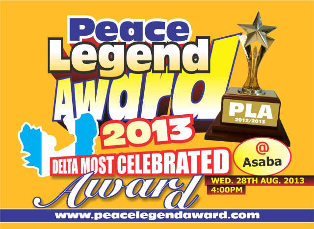 (SNM EVENT) PEACE LEGEND AWARD 2012/2013