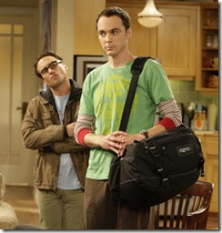 Jim Parsons Johnny Galecki  The big bang theory