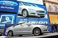 Ford Fusion Times Square Launch