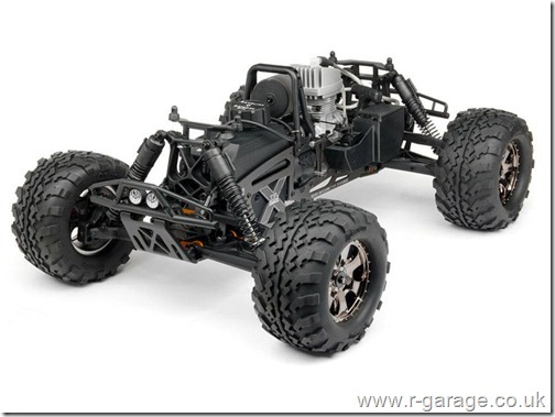 hpi revolution 18th petrol gasoline savage truck