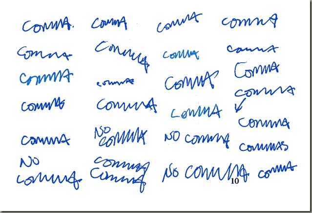 Comma Comma Comma Comma Comma C'mona Comma copy