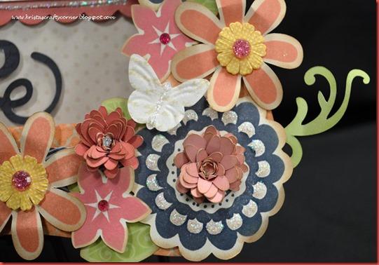 Bracket Frame_Claire_mom dad_cu-girls rock-flower w-glitter