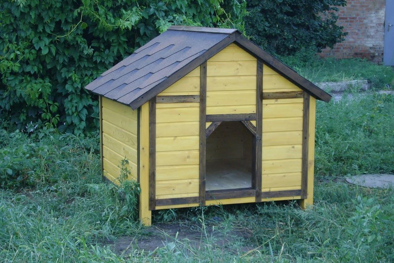 будка для собак схема