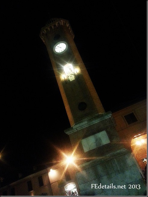 Comacchio By Night, Ferrara, Italy. Photo 3