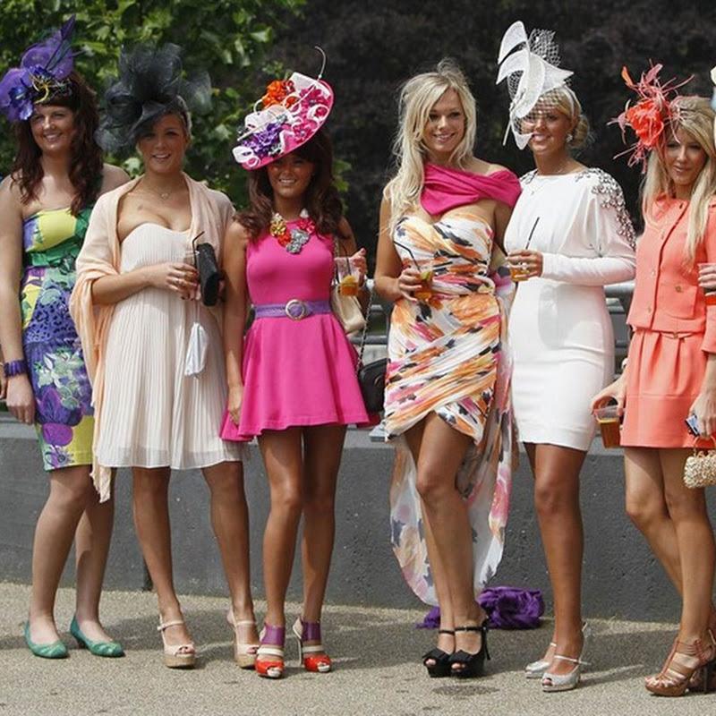 Spectators Show Off Elaborate Hats At Royal Ascot, 2011