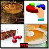 PIE- 4 Pics 1 Word Answers 3 Letters