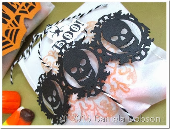 Halloween treat bag 1 by Daniela Dobson