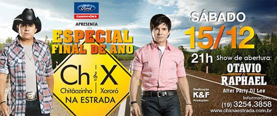 Chitãozinho & Xoxoró na Red Eventos em Jaguariúna
