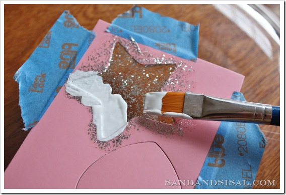 Plaid white paint