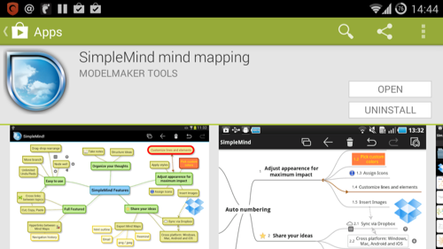 SimpleMind for Android