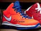 hardwood lebron8 orange 01 First Look at Nike LeBron X Low   Cavs Hardwood Classic?!