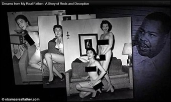 OBAMA Barack mother StanleyAnnDunham posed nude for his mentor Frank Marshall Davis