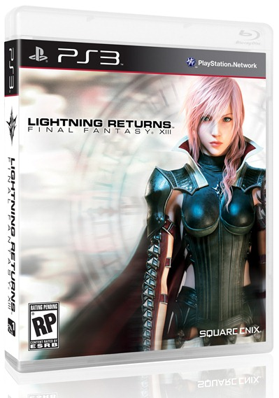 Box Art Lightning Returns: Final Fantasy XIII