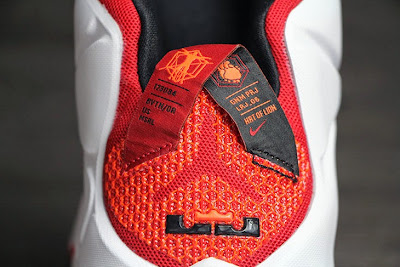nike lebron 12 gr lion heart 3 11 Upcoming Nike LeBron XII (12) Red / White Lion Heart