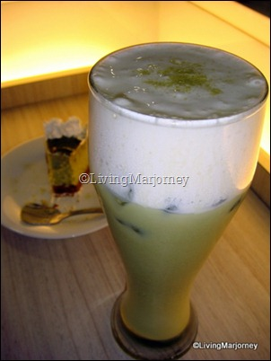 Akiba Cafe: Green Tea Matcha Trifle Tea