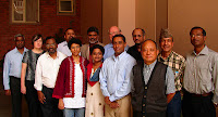 The general editors and developers of the South Asia Bible Commentary at the first editorial meeting in Bangalore, India