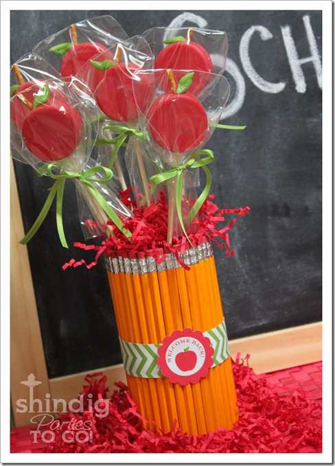 oreo apple pops teacher gift