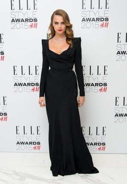 ara Delevingne attends the Elle Style Awards 2015