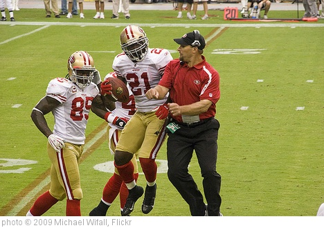 'San Francisco 49ers at Arizona Cardinals, September 13, 2009' photo (c) 2009, Michael Wifall - license: http://creativecommons.org/licenses/by-sa/2.0/