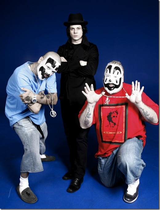 Jack White and  ICP