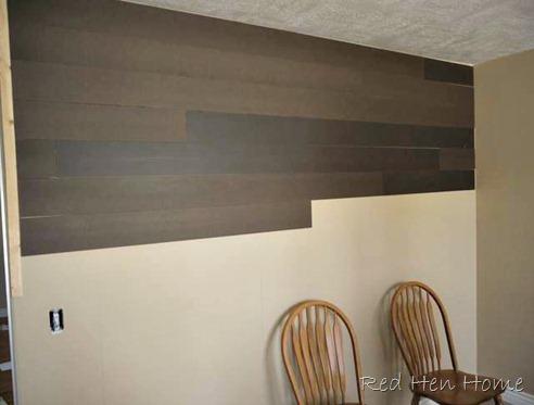 plank planked wall hardboard