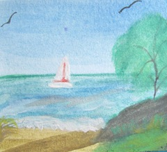 water color sailboat 2