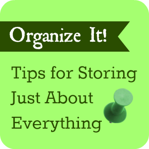 organizing button - square