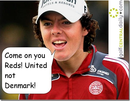 Rory McIlroy Half Danish Funny Pic Tweet
